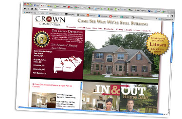 CrownGA.com Website- New Design is Live