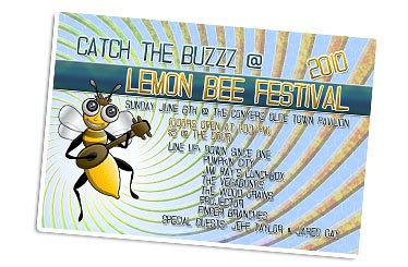 New Lemon Bee Fest 2010! Character Design and Promo Package